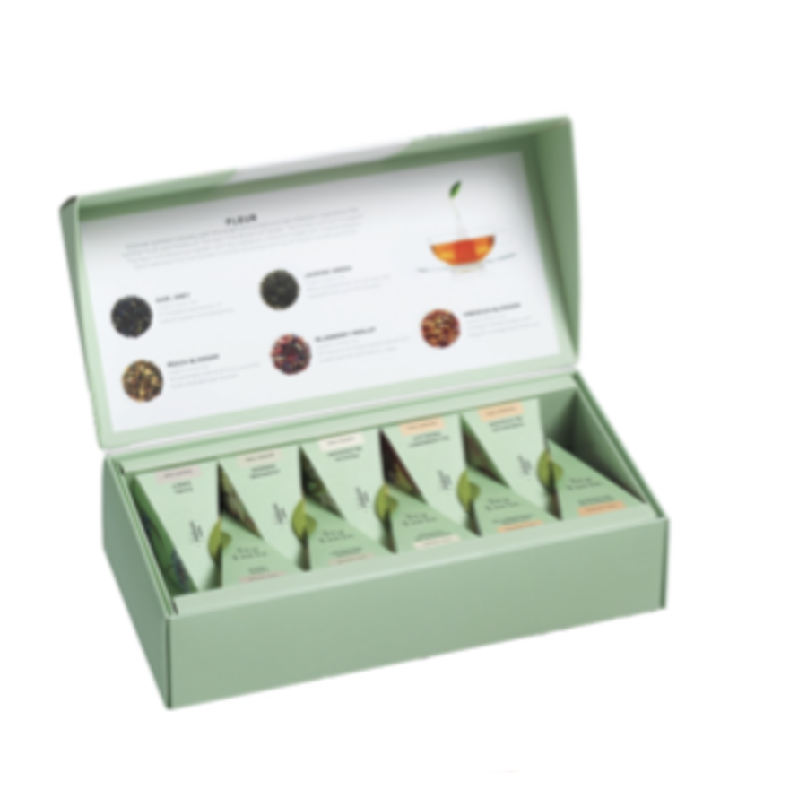 Coffret de thé  bio Hanami | Tea Forte 10 sachets