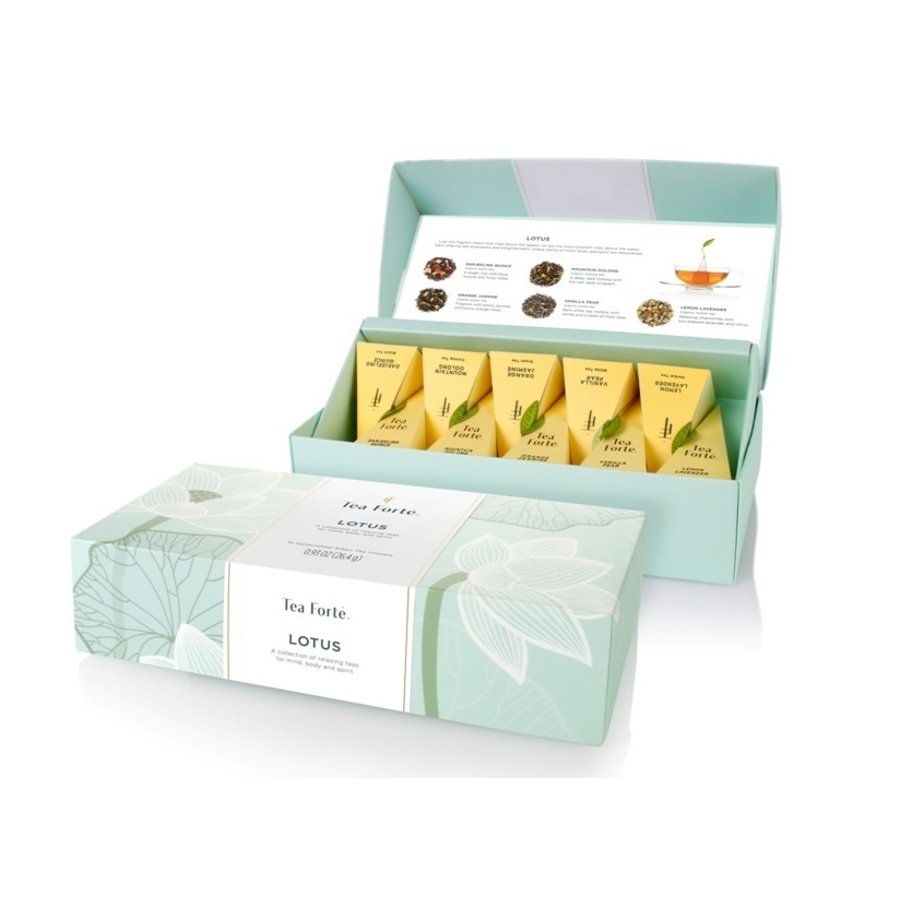 Coffret de thé | Lotus | Tea Forte