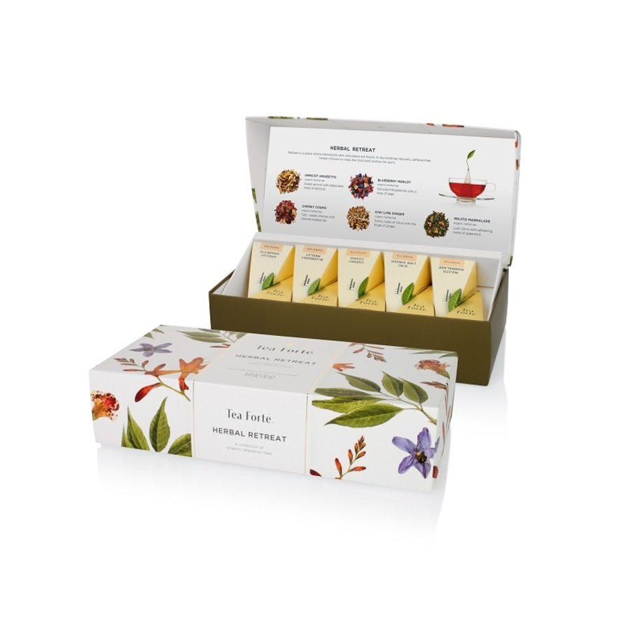 Coffret de thé  bio Herbal  Tea Forte 10 sachets