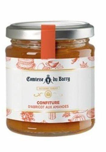 Confiture d'abricot aux amandes des Pyrénées | Comtesse du Barry 220g