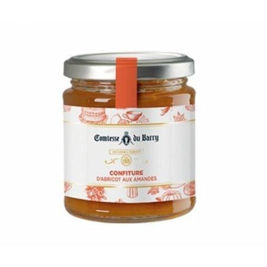 Confiture d'abricot aux amandes des Pyrénées   Comtesse du Barry 220g
