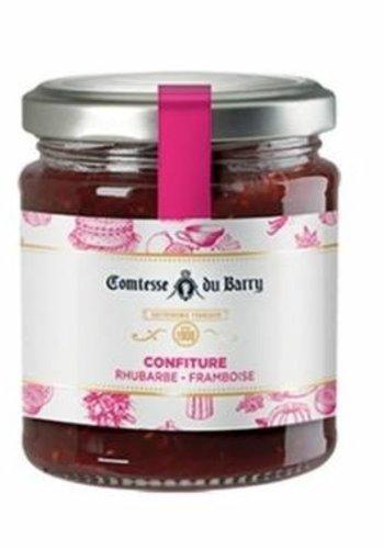 Confiture Rhubarbe-Framboise des Pyrénées | Comtesse du Barry 220g