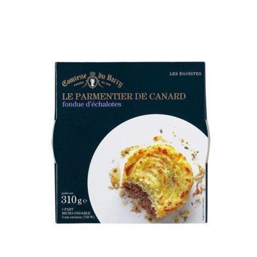 Le Parmentier de Canard fondue d'échalotes   Comtesse du Barry 310g