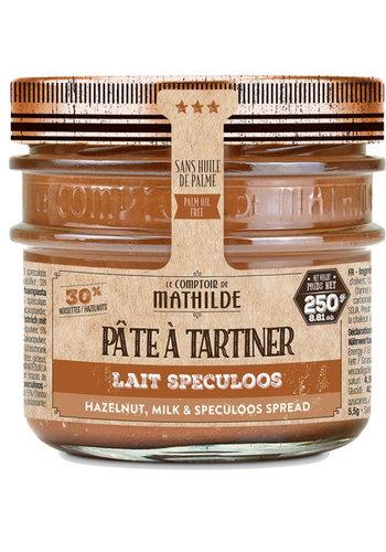 Tartinade  Lait Noisette Spéculos | Le Comptoir de Mathilde | 250G