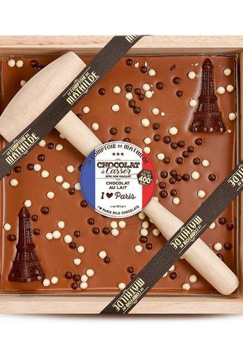 Chocolat au lait à casser | Love Paris | Le Comptoir de Mathilde | 400g