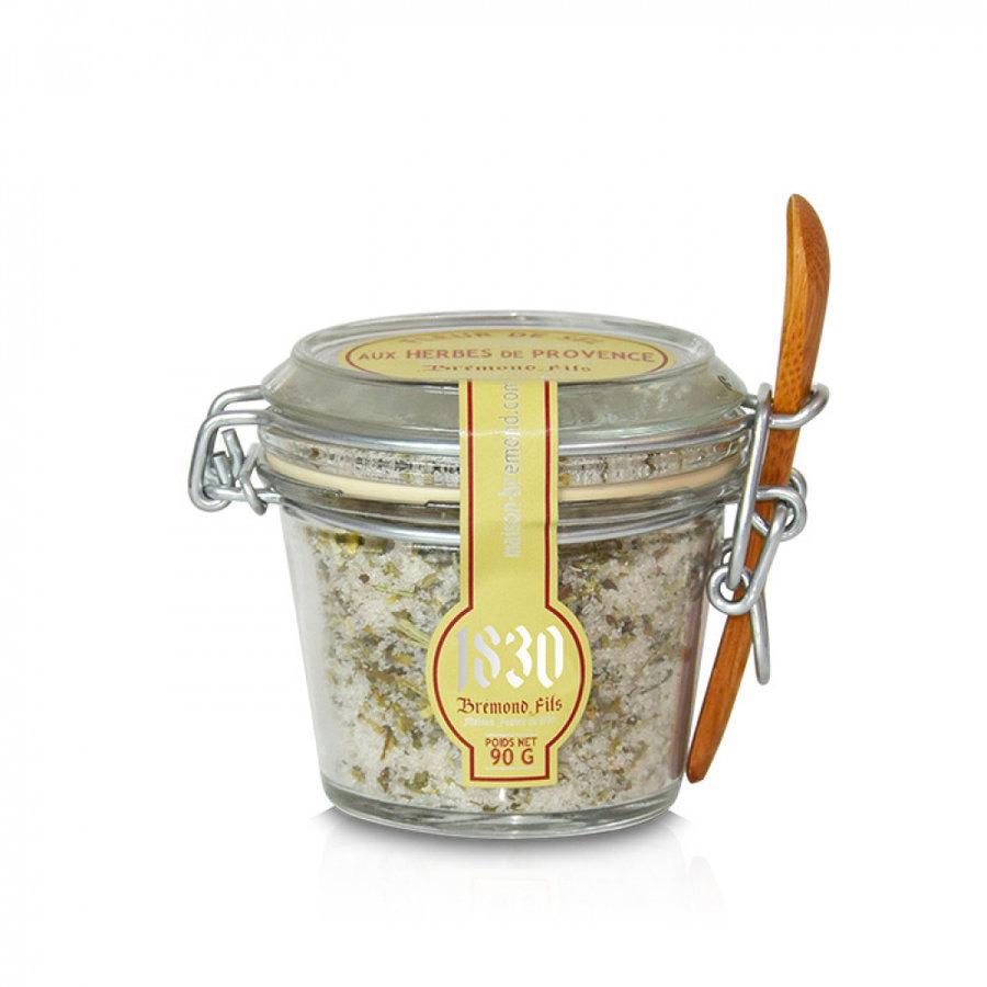 Fleur de sel aux herbes de Provence | Brémond Fils | 90g