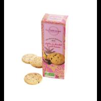 Petits sablés aux pépites de chocolat et banane - Bio et vegan | La Sablésienne | 110g