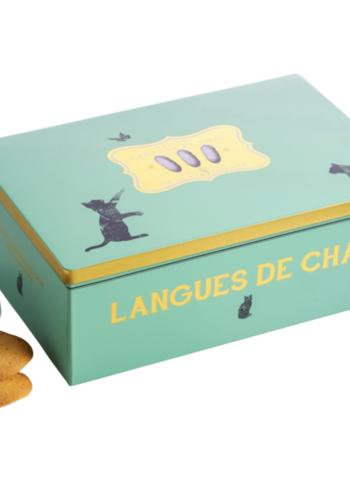 Langue de chat boite métal   LA Sablésienne   160g