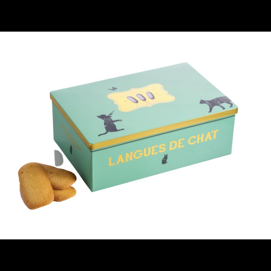 Langue de chat boite métal | LA Sablésienne | 160g