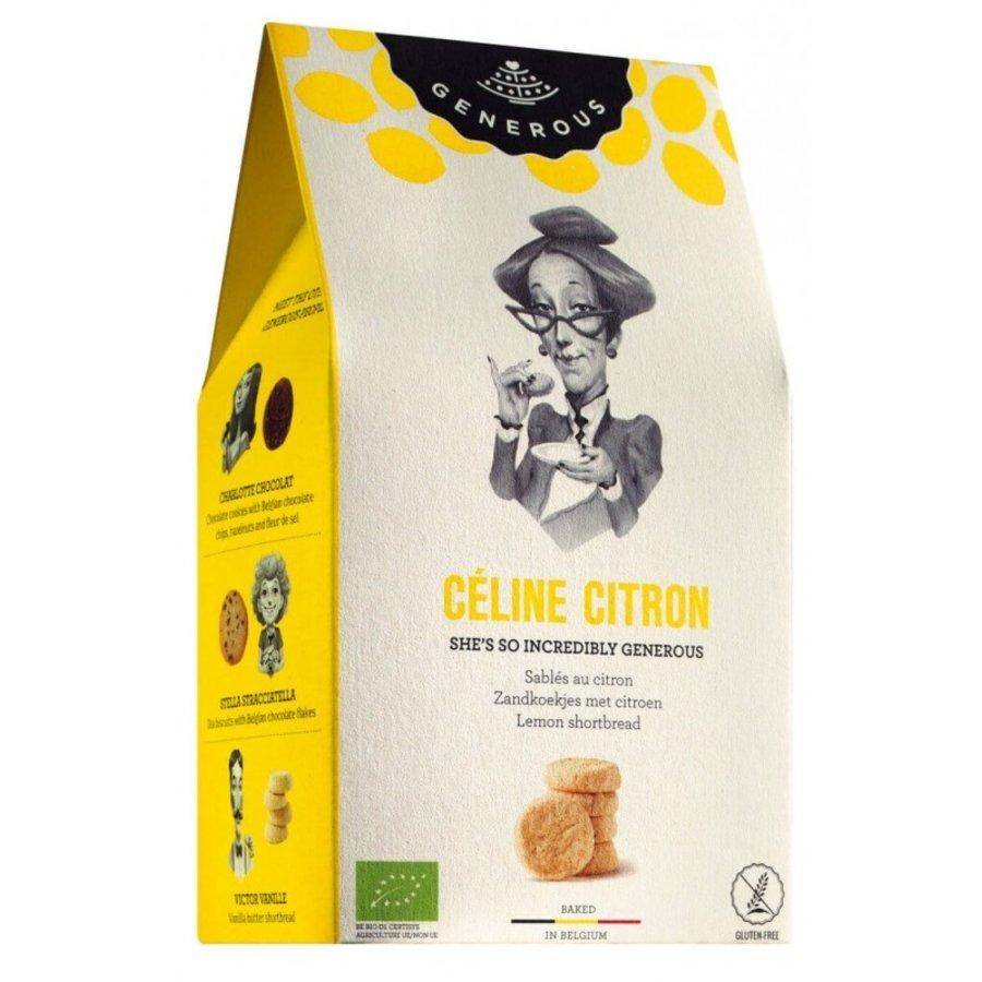 Biscuits Céline Citron | Generous | 100g