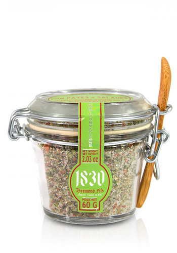 Fleur de sel mélange sel & Herbes pour pâte et salade | Bremond Fils | 60g