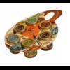 Coffret dégustation Saveurs de Provence (6 saveurs)   Les Délices du Luberon   6 x 30g
