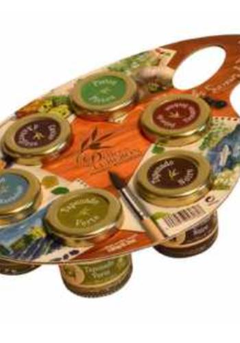 Tartinades -palette de saveurs ( 5 Variétés)   Les Délices du Luberon   6 x 30g