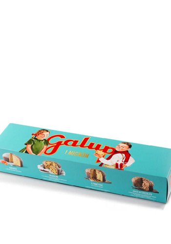 Panettone  Édition Turquoise Assortiment | Galup |  4 x 100g