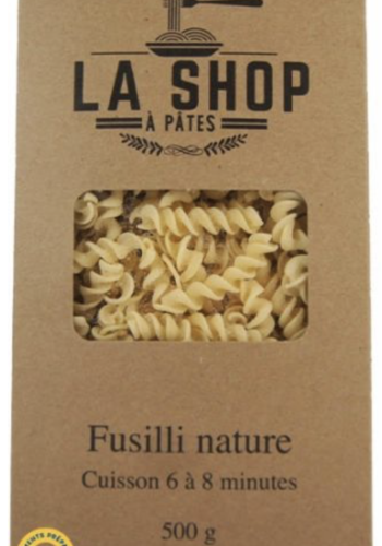 Fusilli  Nature | La Shop à Pâtes | 500g