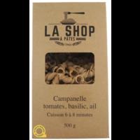 Campanelle Tomates, basilic, ail    La Shop à Pâtes   500g