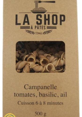 Campanelle Tomates, Basilic, Ail  | La Shop à Pâtes | 500g