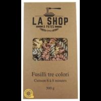 Fusilli tre Colori | La Shop à Pâtes | 500g