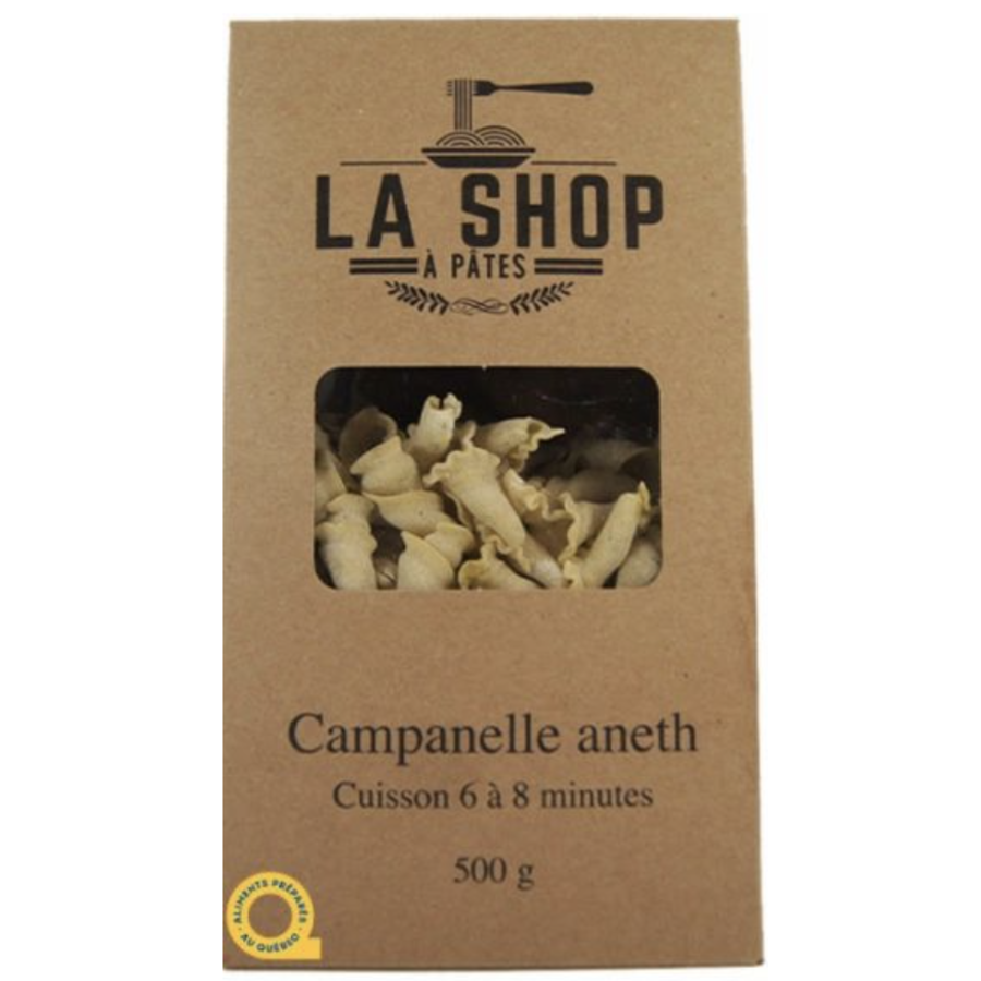 Campanelle Aneth | La Shop à Pâtes | 500g