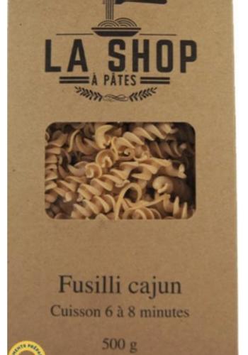 Fusilli Cajun | La Shop à Pâtes | 500g