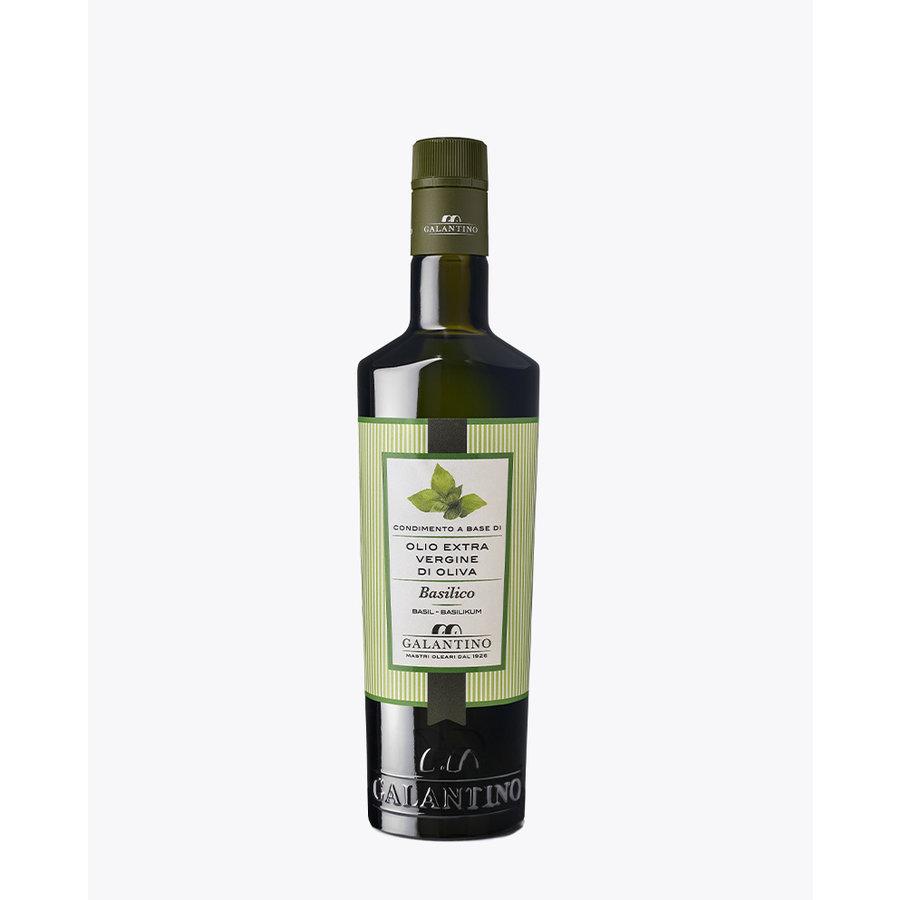 Huile d'olive au  Basilic  | Galantino | 500 ml