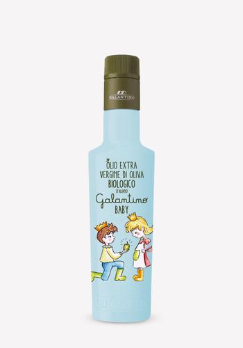 Huile d'olive bio Bébé Célestre ( Bleu) | Galantino | 250ml