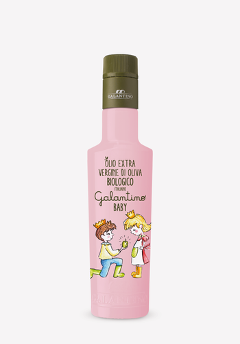 Huile d'olive bio Bébé Rose  | Galantino | 250ml