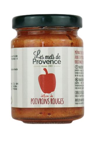 Caviar de Poivrons rouges | Les Mets de Provence | 90g