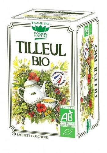 Tisane Bio Tilleul | Romon Nature | 20 sachets