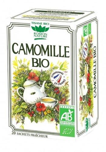 Tisane  Bio Camomille | Romon Nature| 20 sachets