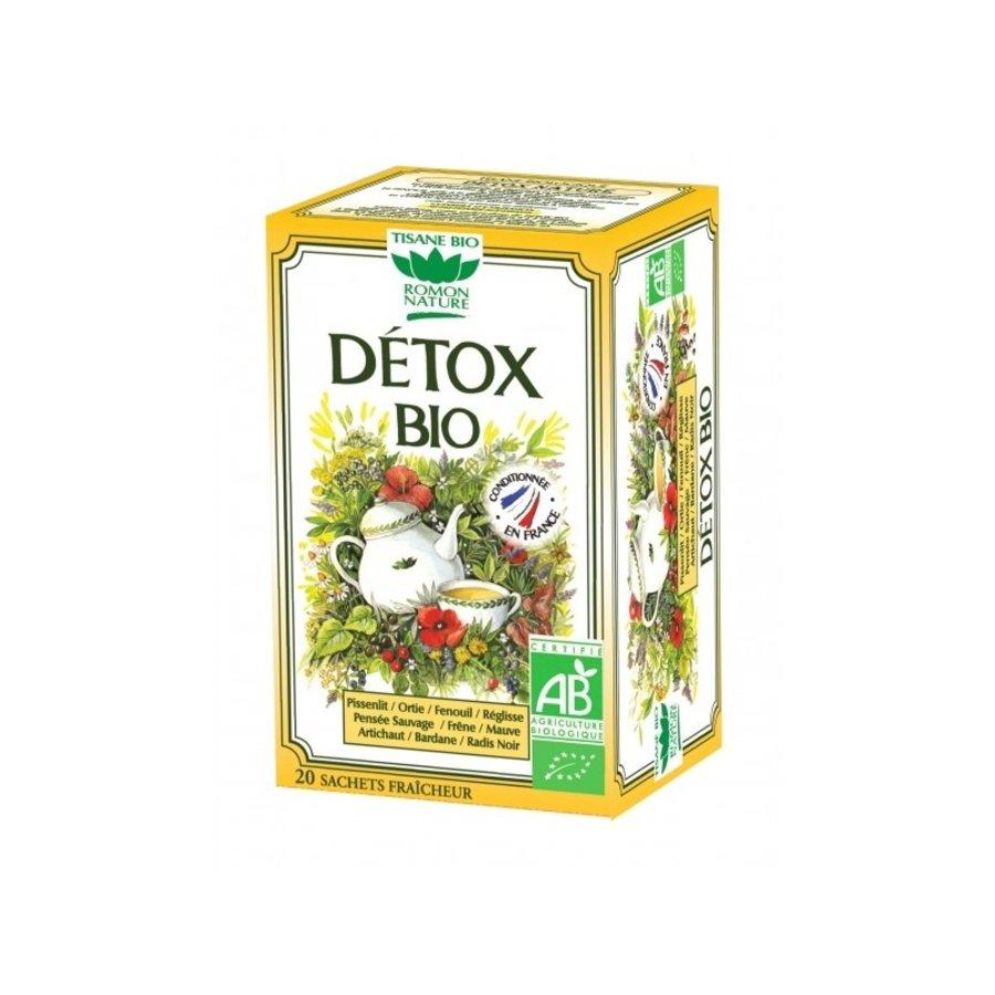 Tisane Bio Detox | Romon Nature | 20 sachets
