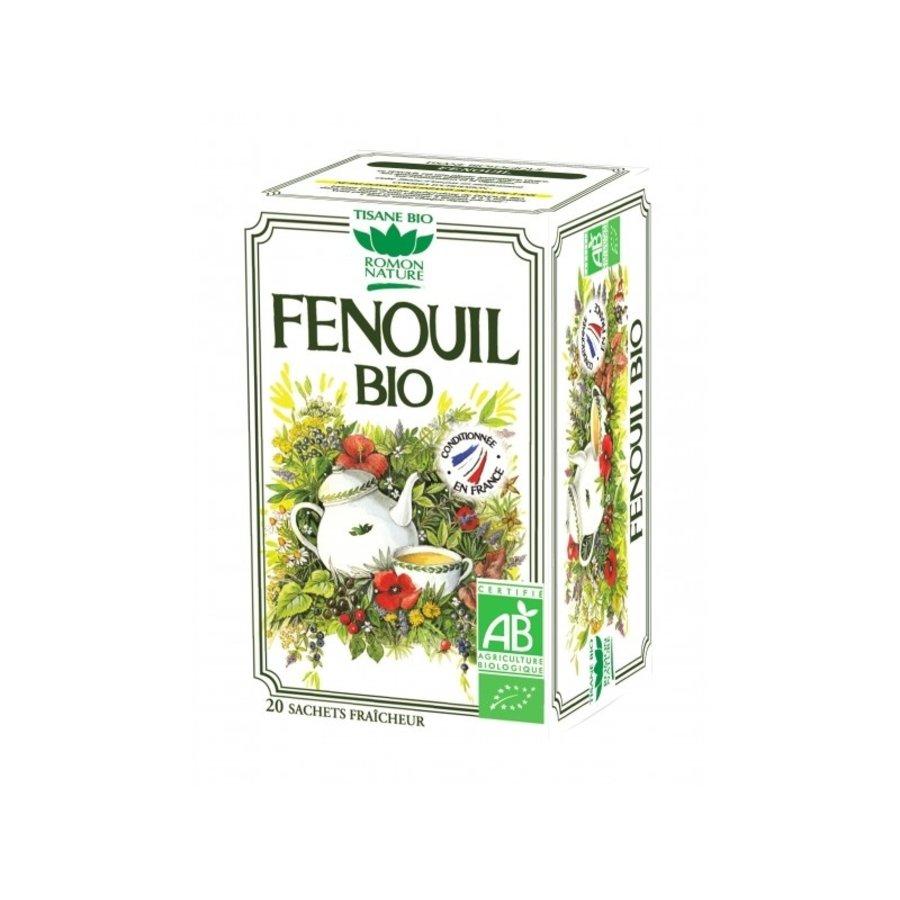 Tisane Bio Fenouil | Romon Nature | 20 sachets