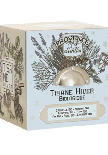 Tisane Hiver bio | Cube Métal | Provence d'Antan