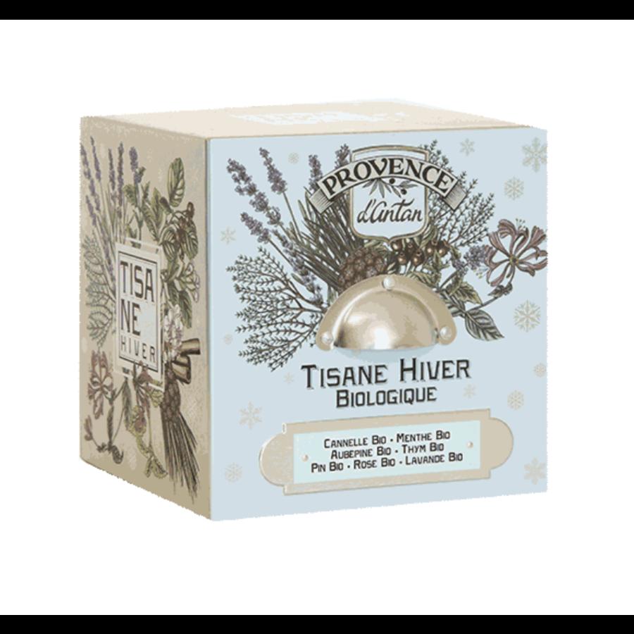 Tisane cube Hiver bio | Provence d'Antan