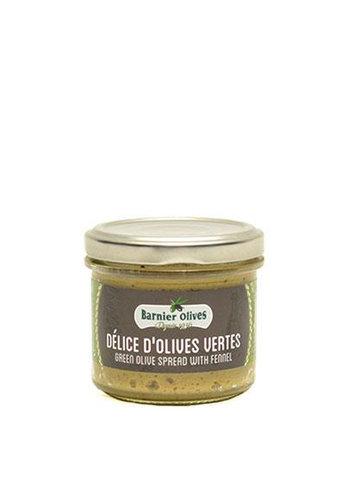 Délice d'olives vertes | Barnier Olives | 100g