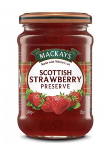 Confiture de Fraise Écossaise | Mackays | 250 ml