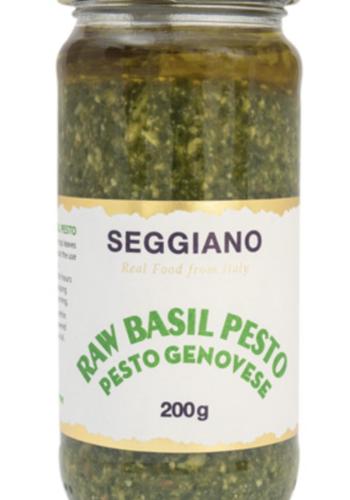 Raw Basil Pesto | Seggiano | 200g