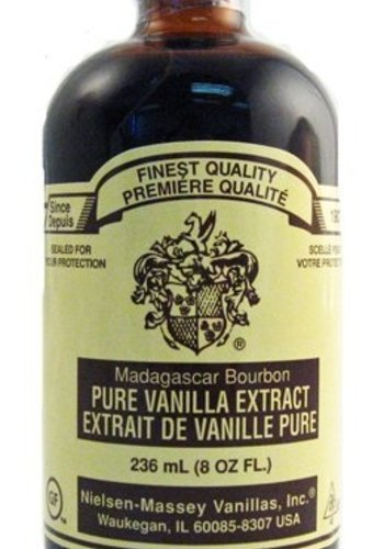 8 oz Bourbon Madagascar Vanilla | Nielsen-Massey | 236ml (8oz)