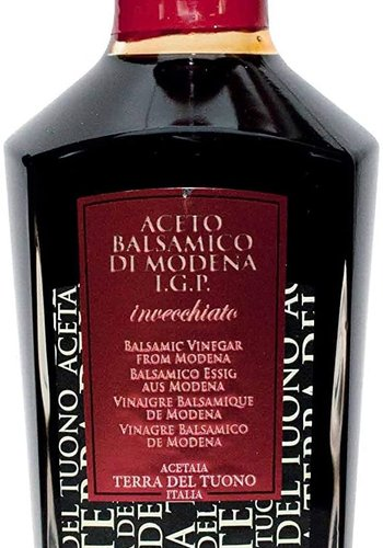 Vinaigre de Balsamique Rouge | Terra Del Tuono | 250 ml