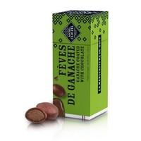Dragées fèves de ganache  Chocolat Cluizel   120gr