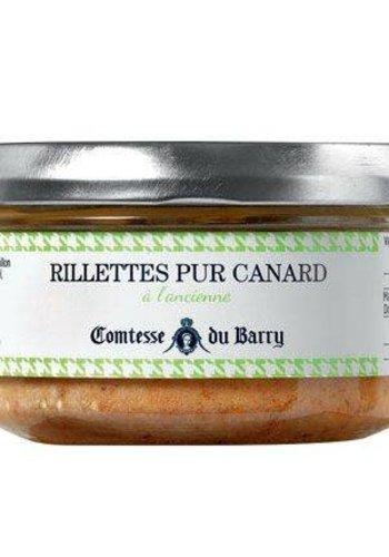 Rillettes Pur canard  | Comtesse du Barry 140g