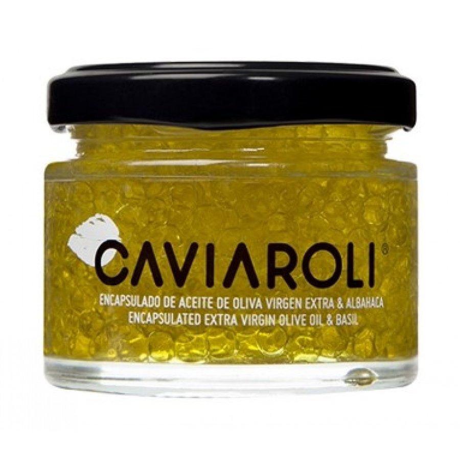 PERLES CAVIAROLI HUILE D'OLIVE BASILIC 50ML