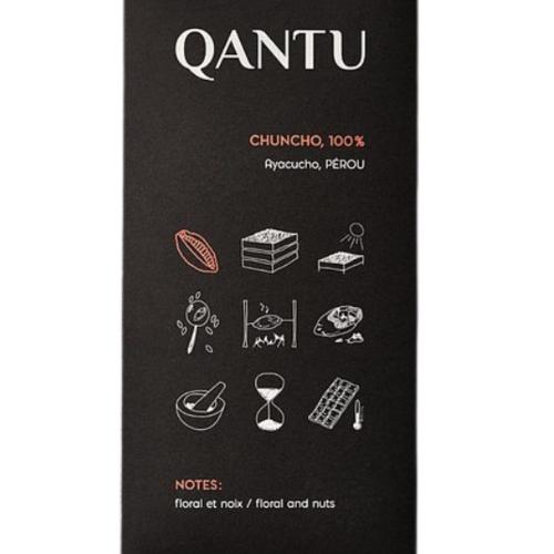 Chocolat noir 100% Chuncho  QANTU   50g