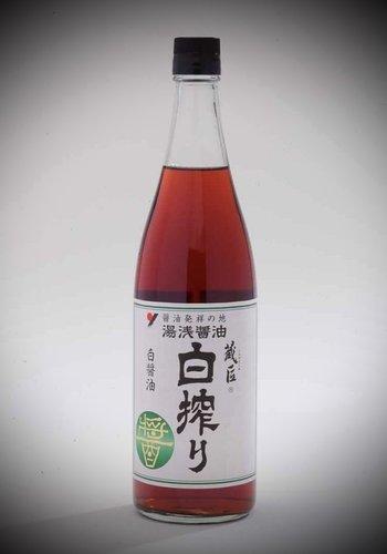 Yuasa Shiroshibori | Sauce soya claire (80% blé) | 200ml