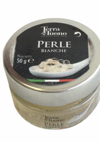 Perles de balsamique blanches| Terra del Tuono | 50g