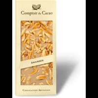 Barre gourmande blond amande caramélisée | Comptoir du Cacao | 90g
