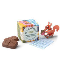Casse tête et Chocolat (Animaux des bois) | Play in choc  | 2 x 10g + jouet