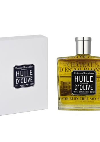 Huile d'olive extra vierge | Flacon Couture | Château d'Estoublon |  750 ml
