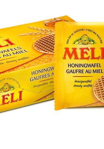 Gaufre fourrées miel | MELI | 6 unités