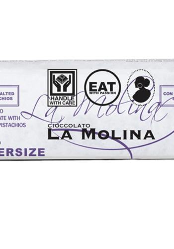 Chocolat au pistache avec pistaches salée | La Molina | 250g